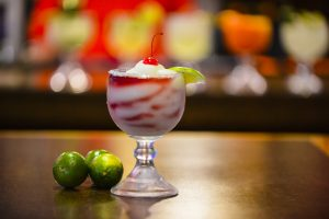 Margaritas and Tex-Mex food served at the Plaza Restaurant
