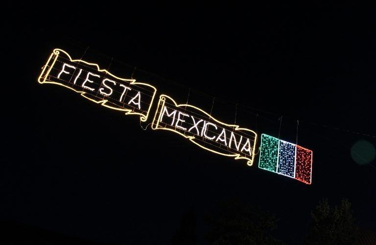 Fiesta Mexicana lights